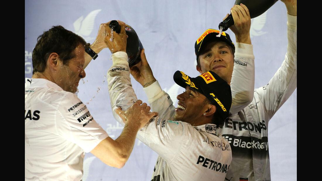 Mercedes - Formel 1 - GP Bahrain 2014