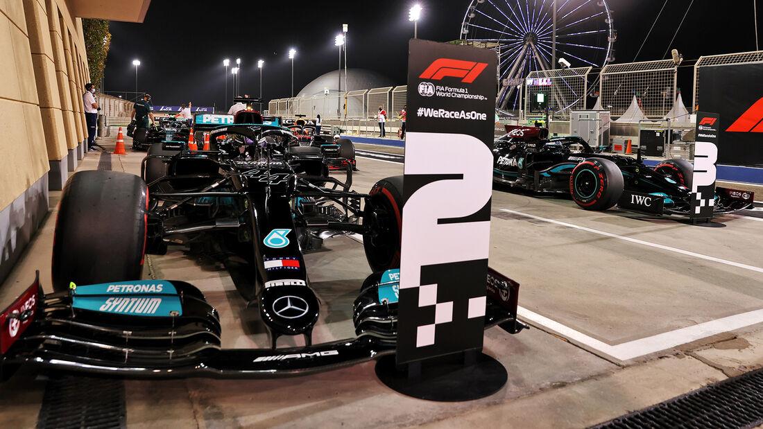 Mercedes - Formel 1 - GP Bahrain 2021