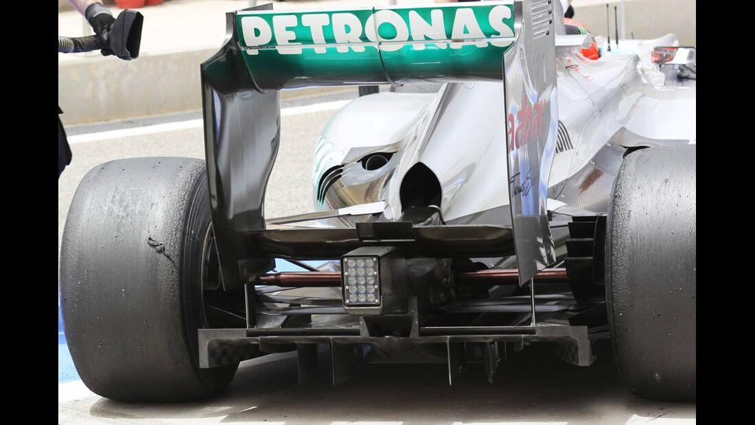 Mercedes - Formel 1 - GP Bahrain - 21. April 2012