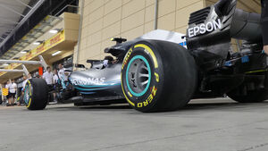 Mercedes - Formel 1 - GP Bahrain - 5. April 2018