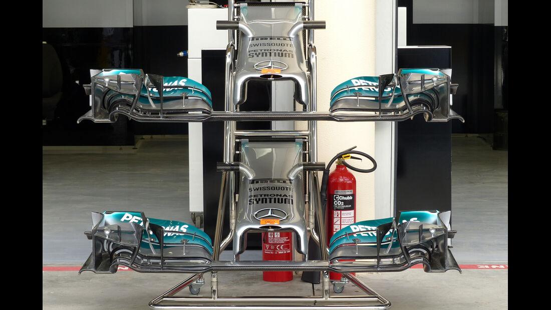 Mercedes - Formel 1 - GP Bahrain - Sakhir - 4. April 2014