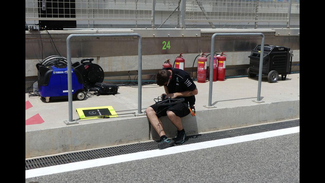Mercedes - Formel 1 - GP Bahrain -Sakhir - Donnerstag - 13.4.2017