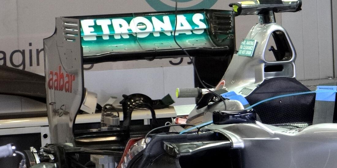 Mercedes - Formel 1 - GP Belgien - Spa - 30.8.2012
