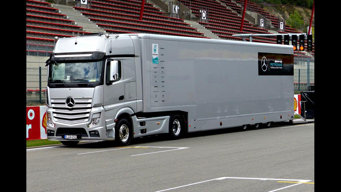 Mercedes - Formel 1 - GP Belgien - Spa-Francorchamps - 19. August 2015