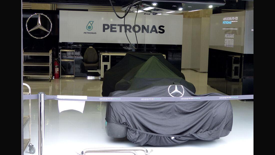 Mercedes - Formel 1 - GP Belgien - Spa-Francorchamps - 20. August 2014