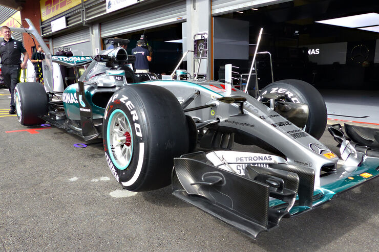 Mercedes - Formel 1 - GP Belgien - Spa-Francorchamps - 20. August 2015