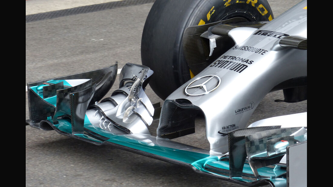 Mercedes - Formel 1 - GP Belgien - Spa-Francorchamps - 21. August 2014