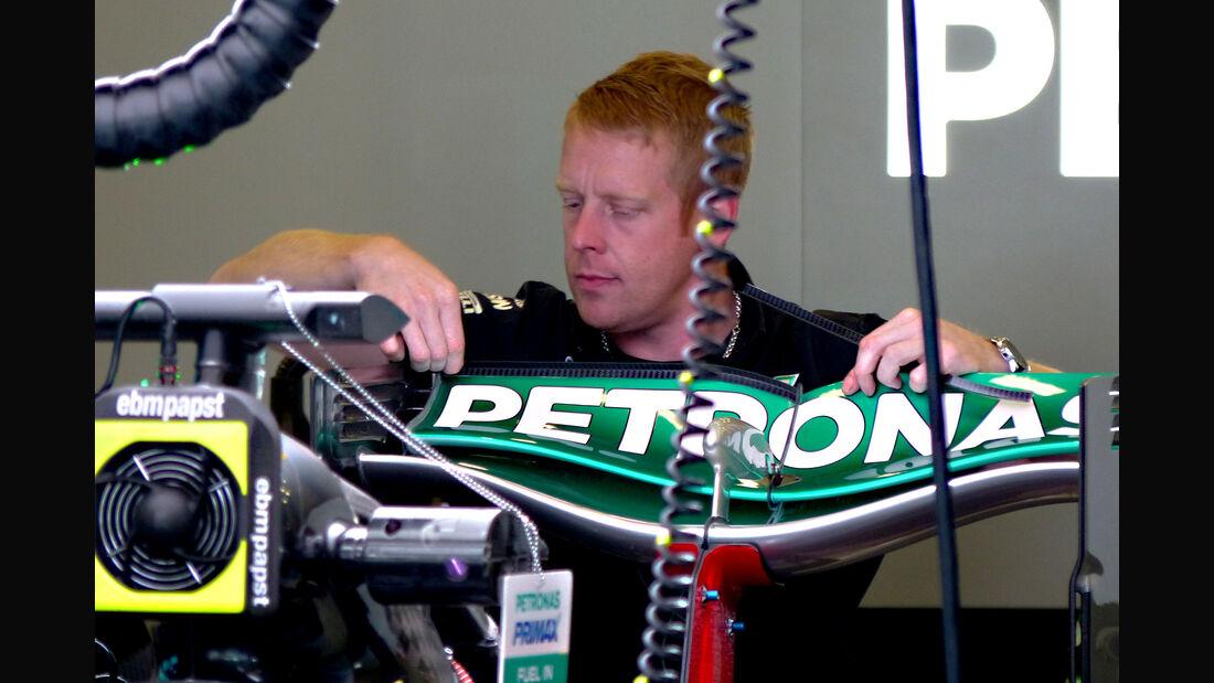Mercedes - Formel 1 - GP Belgien - Spa-Francorchamps - 21. August 2015