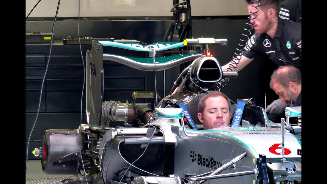 Mercedes - Formel 1 - GP Belgien - Spa-Francorchamps - 22. August 2015