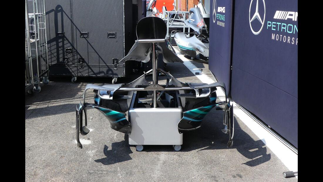 Mercedes - Formel 1 - GP Belgien - Spa-Francorchamps - 22. August 2018