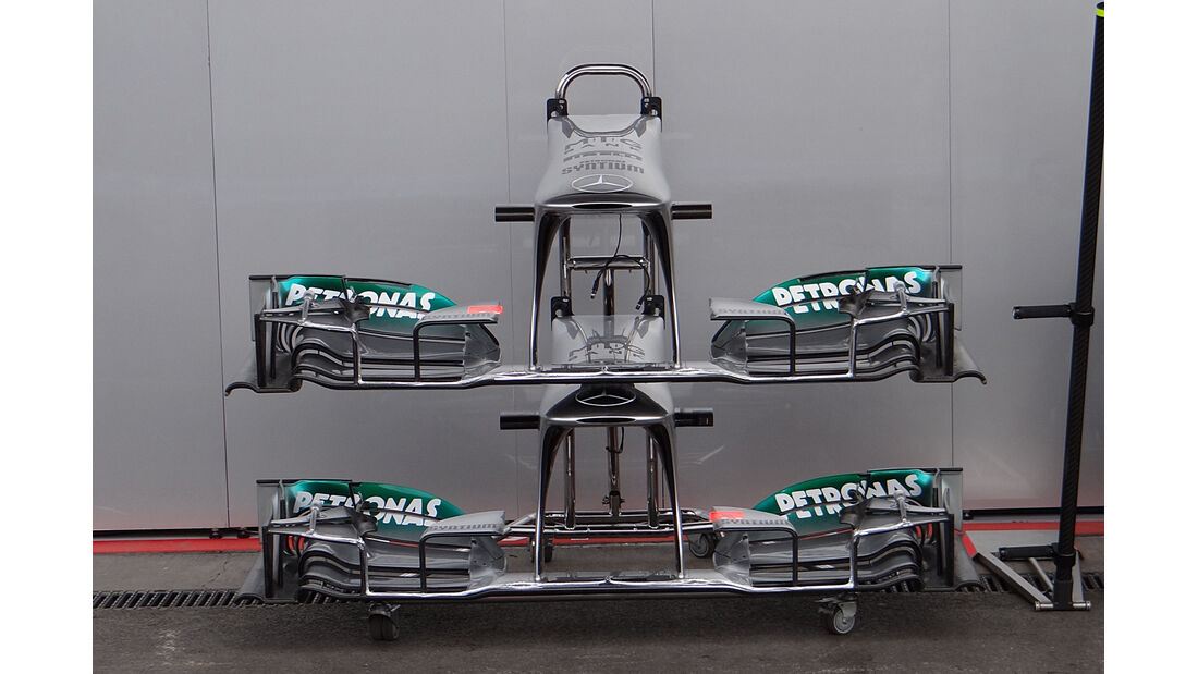 Mercedes - Formel 1 - GP Belgien - Spa Francorchamps - 23. August 2013