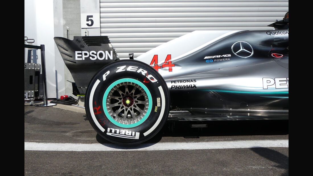 Mercedes - Formel 1 - GP Belgien - Spa-Francorchamps - 23. August 2018