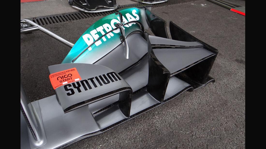 Mercedes - Formel 1 - GP Belgien - Spa-Francorchamps - 24. August