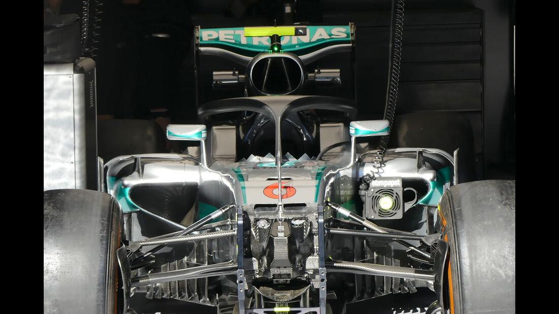 Mercedes - Formel 1 - GP Belgien - Spa-Francorchamps - 25. August 2016