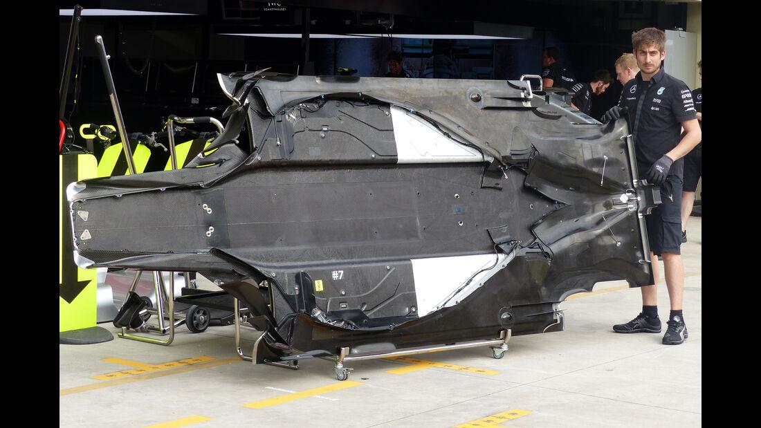 Mercedes - Formel 1 - GP Brasilien- 12. November 2015