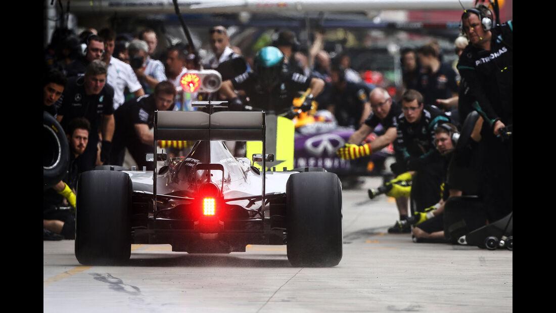 Mercedes - Formel 1 - GP Brasilien- 13. November 2015