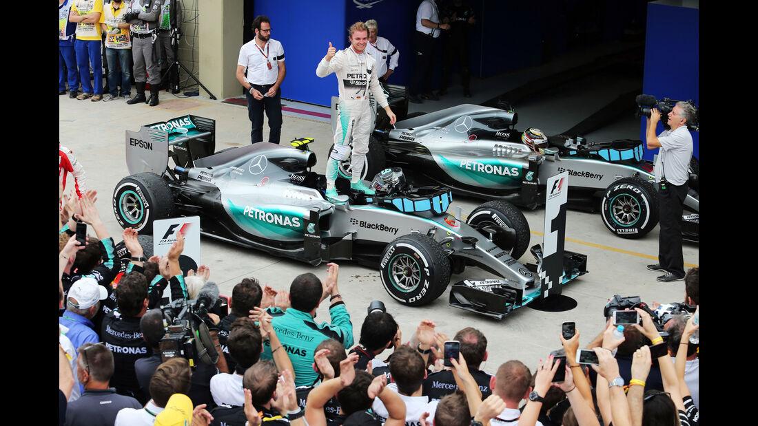Mercedes  - Formel 1 - GP Brasilien- 15. November 2015