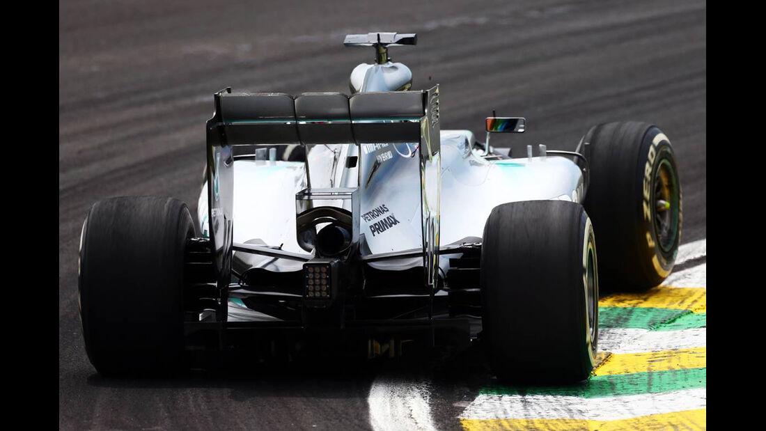 Mercedes - Formel 1 - GP Brasilien- 7. November 2014
