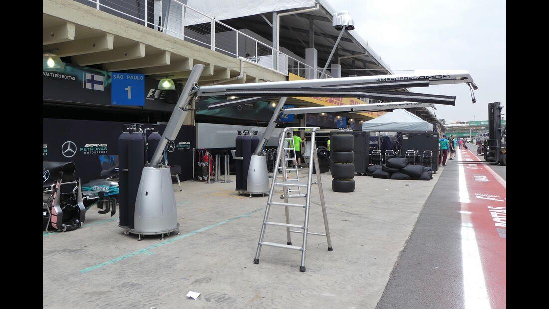 Mercedes - Formel 1 - GP Brasilien - 8. November 2017