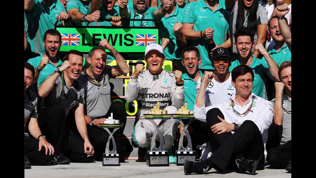 Mercedes - Formel 1 - GP Brasilien - 9. November 2014