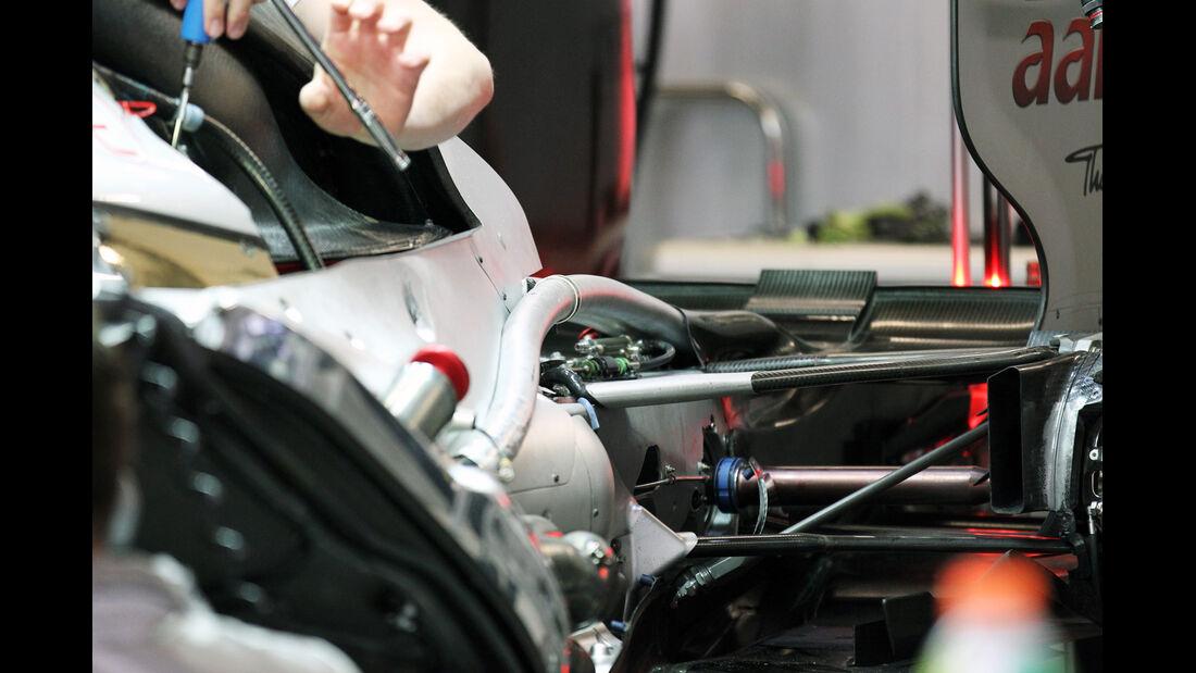 Mercedes - Formel 1 - GP China - 13. April 2012