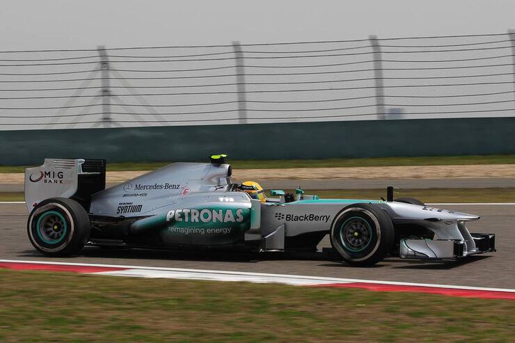 Mercedes - Formel 1 - GP China - 13. April 2013