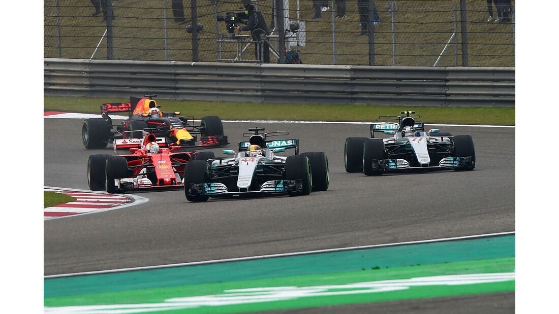 Mercedes - Formel 1 - GP China 2017
