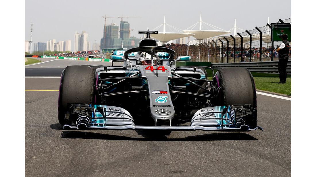 Mercedes - Formel 1 - GP China 2018