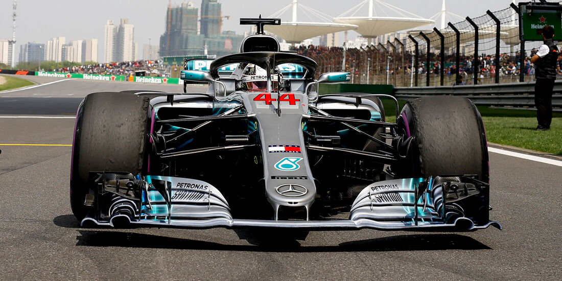 Mercedes - Formel 1 - GP China 2018