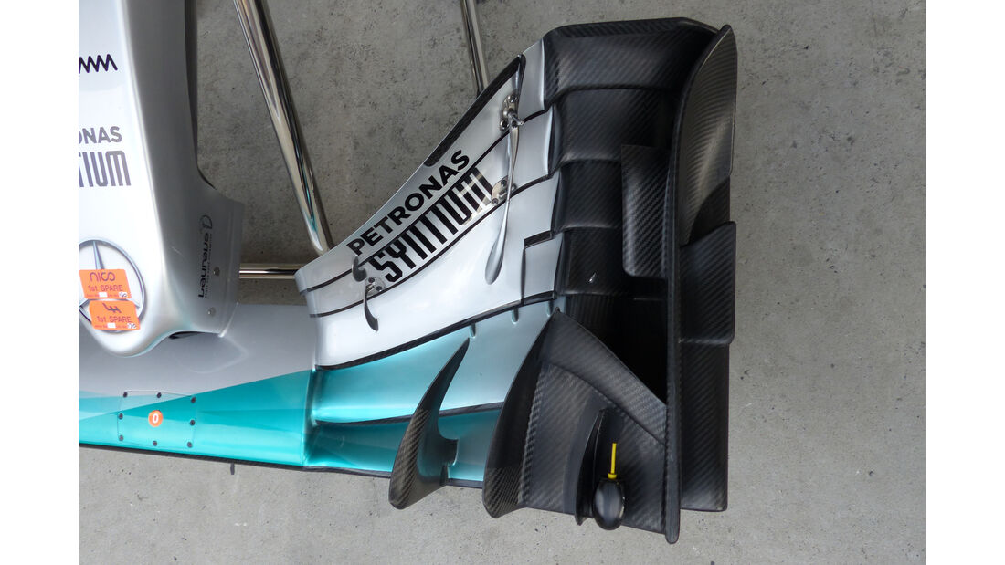 Mercedes - Formel 1 - GP China - Shanghai - 10. April 2015