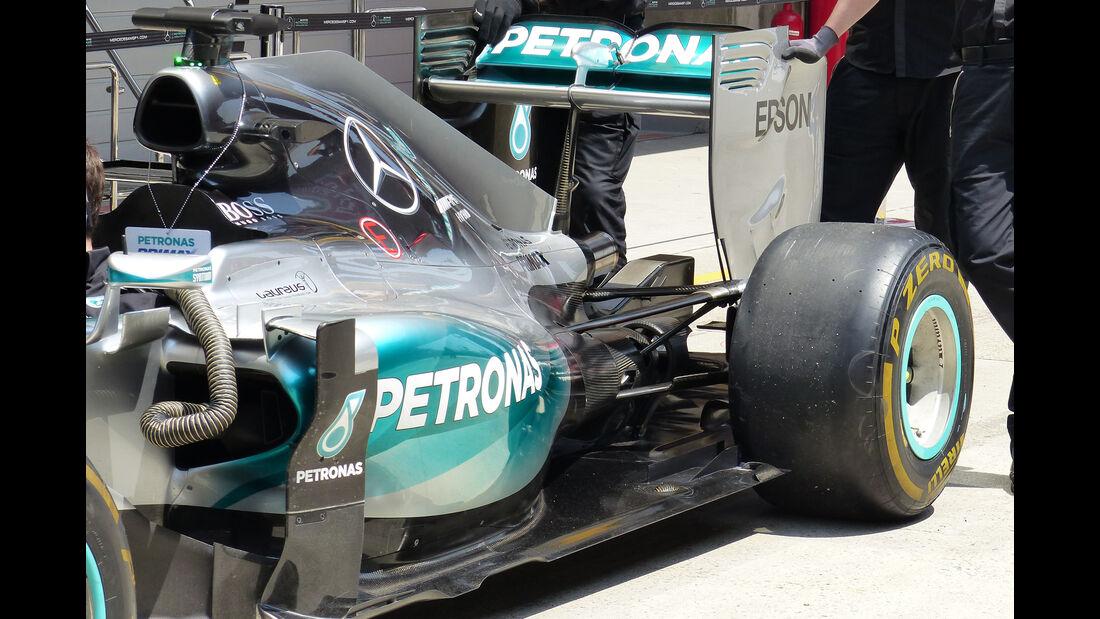 Mercedes - Formel 1 - GP China - Shanghai - 11. April 2015