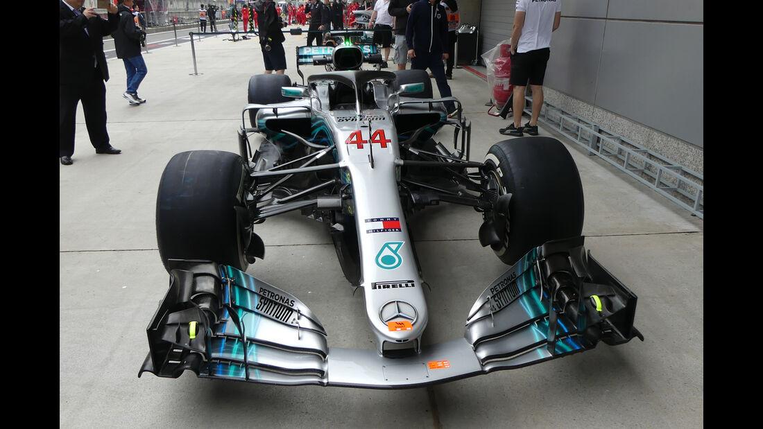 Mercedes - Formel 1 - GP China - Shanghai - 12. April 2018