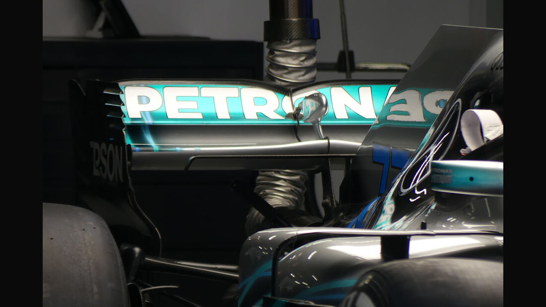 Mercedes - Formel 1 - GP China - Shanghai - 13. April 2017