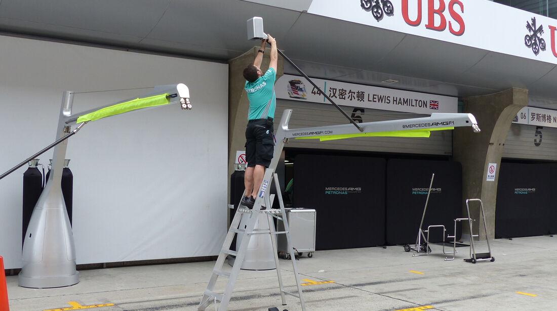 Mercedes - Formel 1 - GP China - Shanghai - 16. April 2014