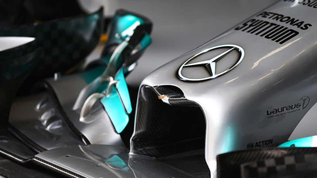 Mercedes - Formel 1 - GP China - Shanghai - 18. April 2014