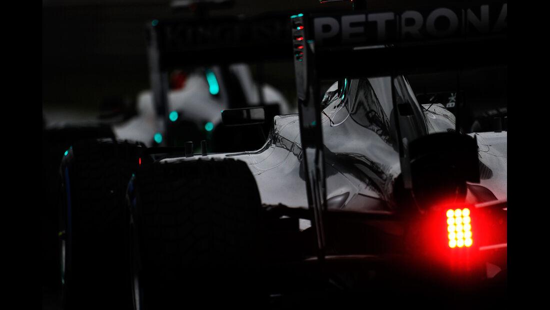 Mercedes - Formel 1 - GP China - Shanghai - 19. April 2014
