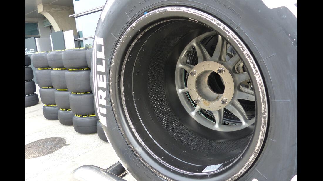 Mercedes - Formel 1 - GP China - Shanghai - 8. April 2015