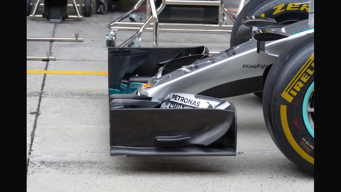 Mercedes - Formel 1 - GP China - Shanghai - 9. April 2015