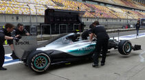 Mercedes - Formel 1 - GP China - Shanghai - 9. April 2015