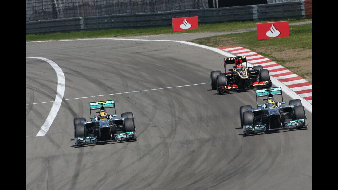 Mercedes - Formel 1 - GP Deutschland 2013