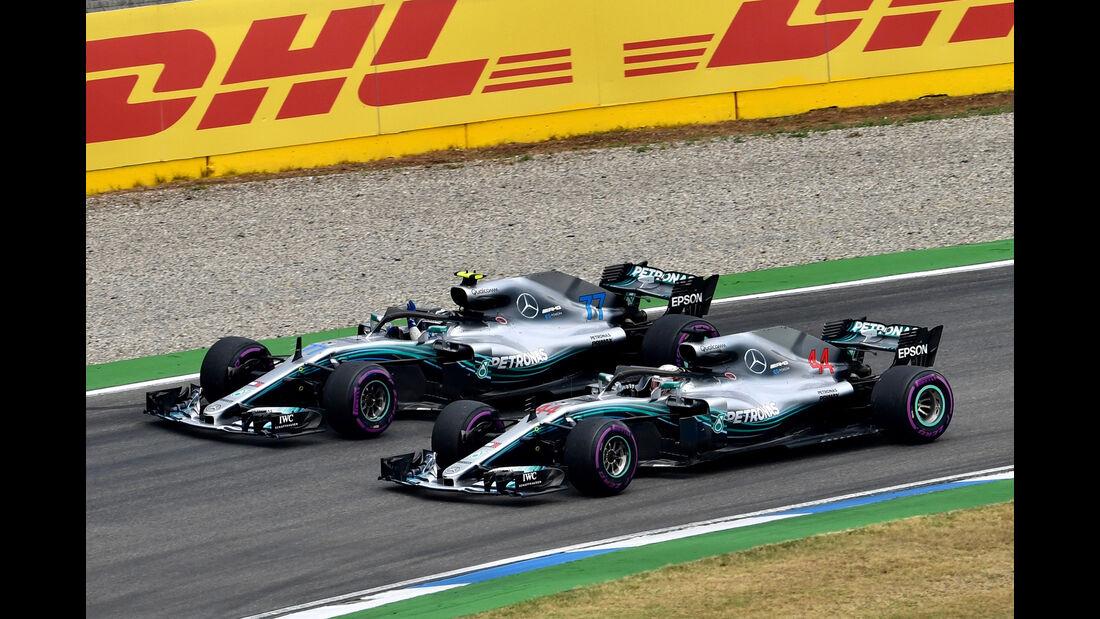 Mercedes - Formel 1 -GP Deutschland 2018