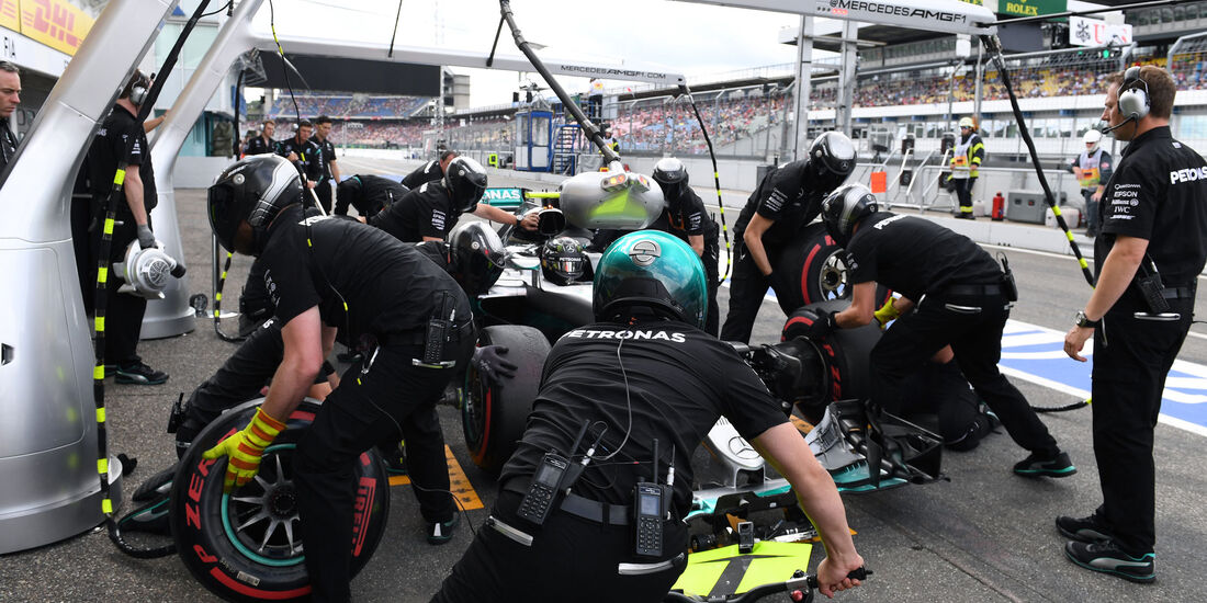 Mercedes  - Formel 1 - GP Deutschland - 30. Juli 2016