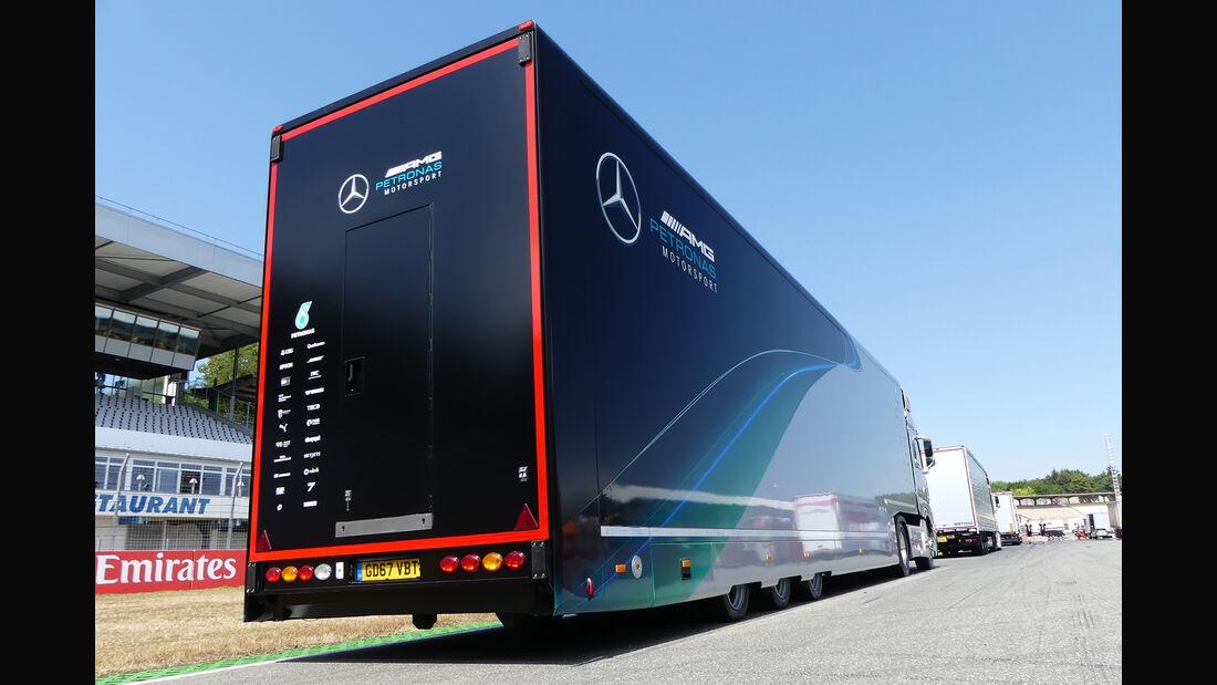 Mercedes - Formel 1 - GP Deutschland - Hockenheim - 18. Juli 2018