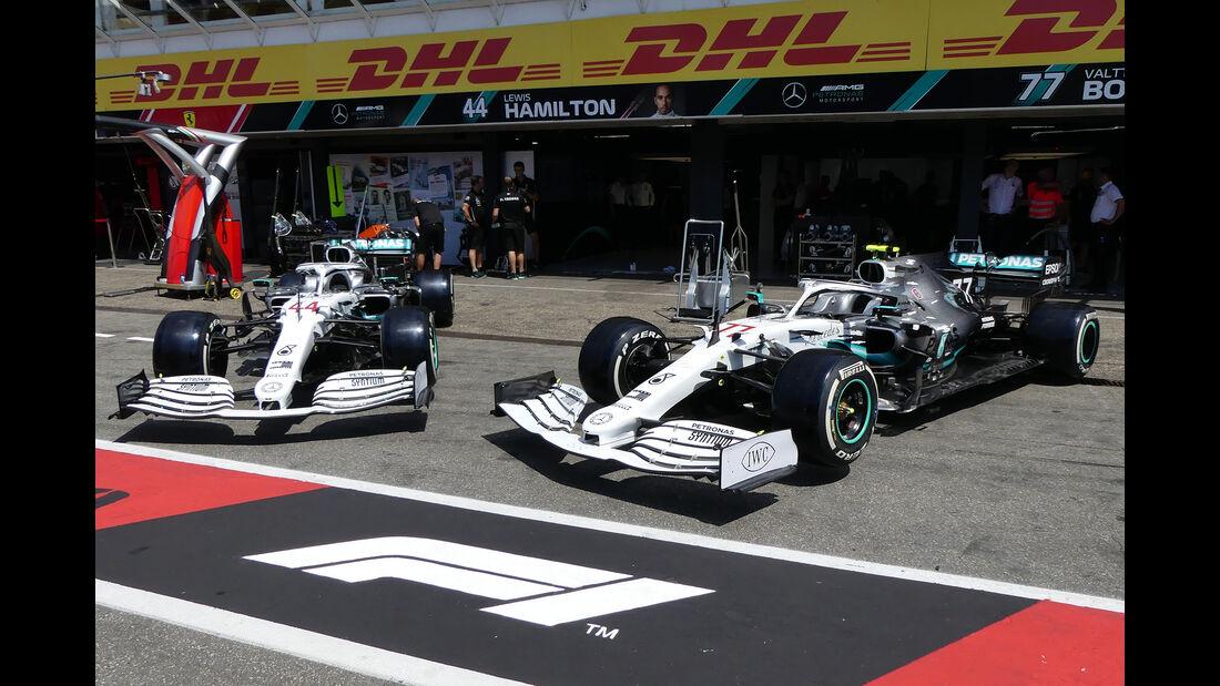 Mercedes - Formel 1 - GP Deutschland - Hockenheim - 25. Juli 2019