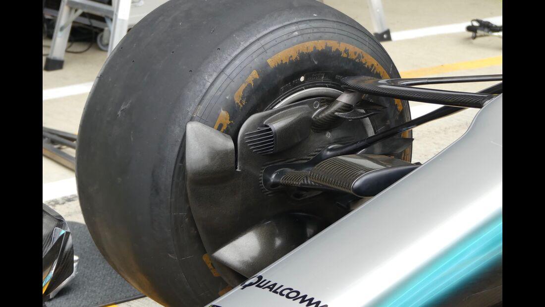 Mercedes - Formel 1 - GP England - 14. Juli 2017