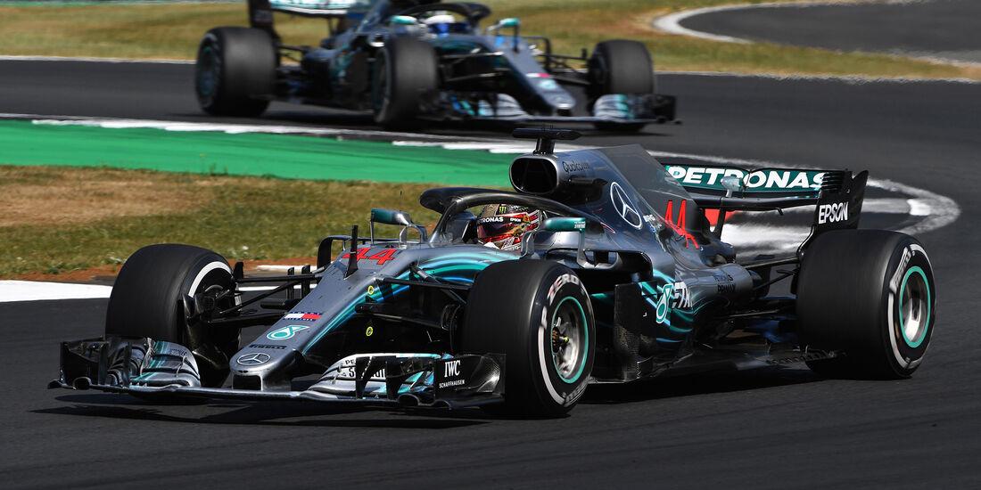 Mercedes - Formel 1 - GP England 2018