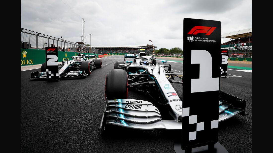 Mercedes - Formel 1 - GP England 2019