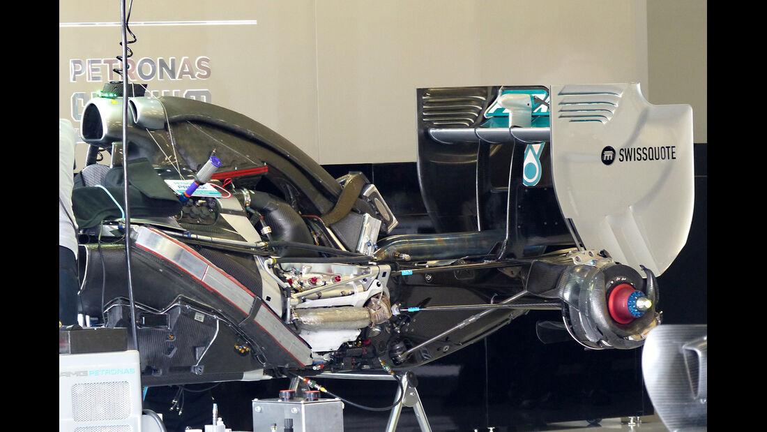 Mercedes - Formel 1 - GP England - Silverstone - 3. Juli 2014