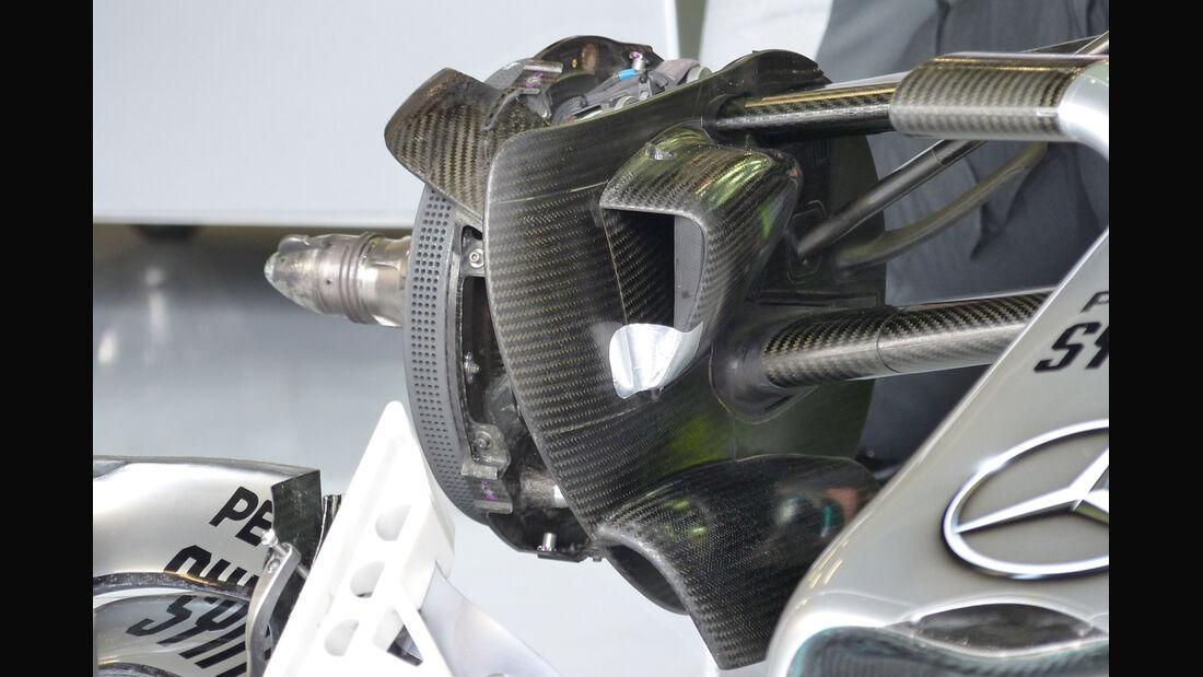 Mercedes - Formel 1 - GP England - Silverstone - 5. Juli 2014