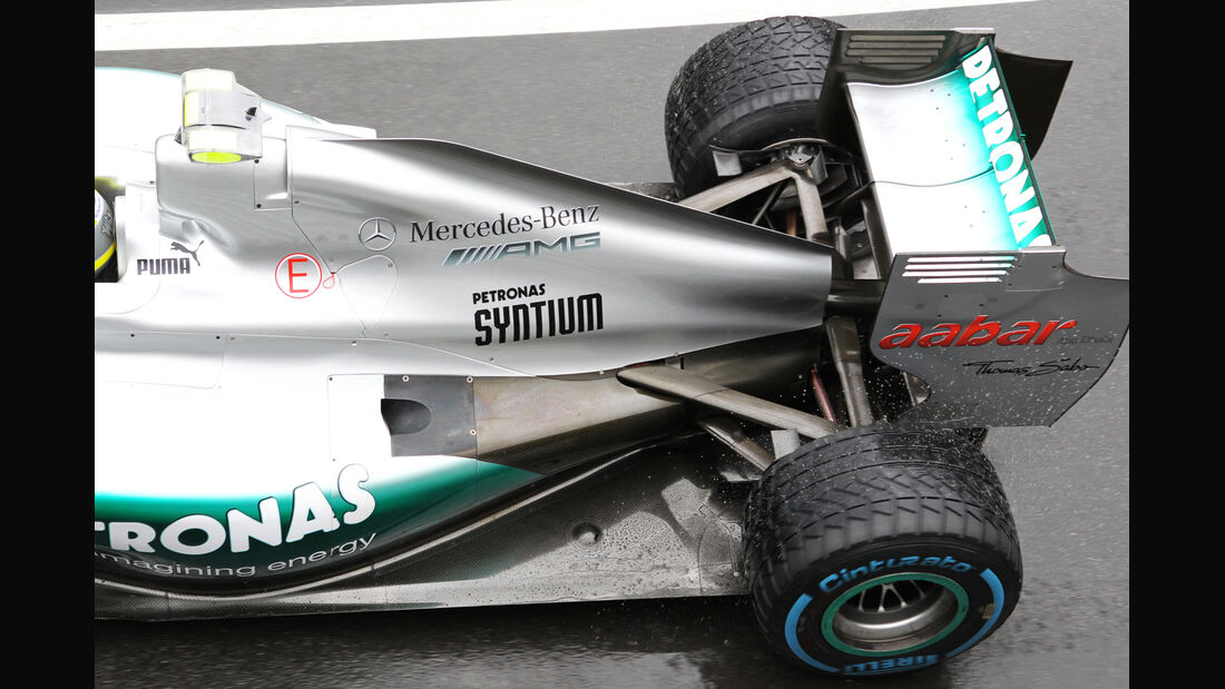 Mercedes - Formel 1 - GP England - Silverstone - 6. Juli 2012